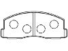 刹车片 Brake Pad Set:MB 277 192