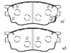 刹车片 Brake Pad Set:G2YD-33-23Z
