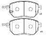 刹车片 Brake Pad Set:41060-CG090