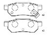 刹车片 Brake Pad Set:43022-ST3-E00