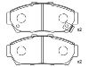 刹车片 Brake Pad Set:45022-ST7-000