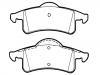 刹车片 Brake Pad Set:5011970AA