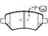 刹车片 Brake Pad Set:A21-6GN3501080BA